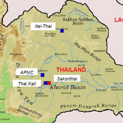 KHORAT BASIN - THAILAND